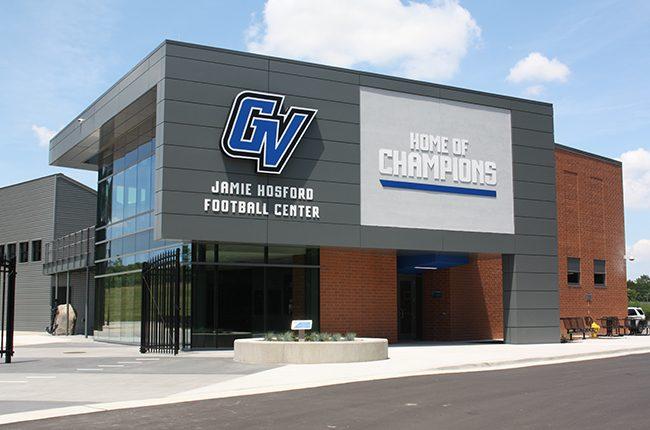 GVSU Jamie Hosford Football Center