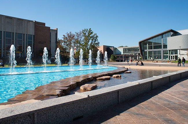 WMU Fountain Plaza Renovation